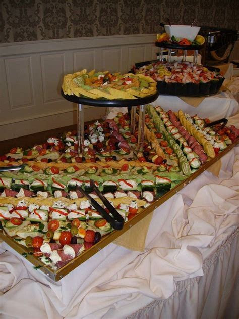 Wedding Reception Finger Foods   No matter why a couple