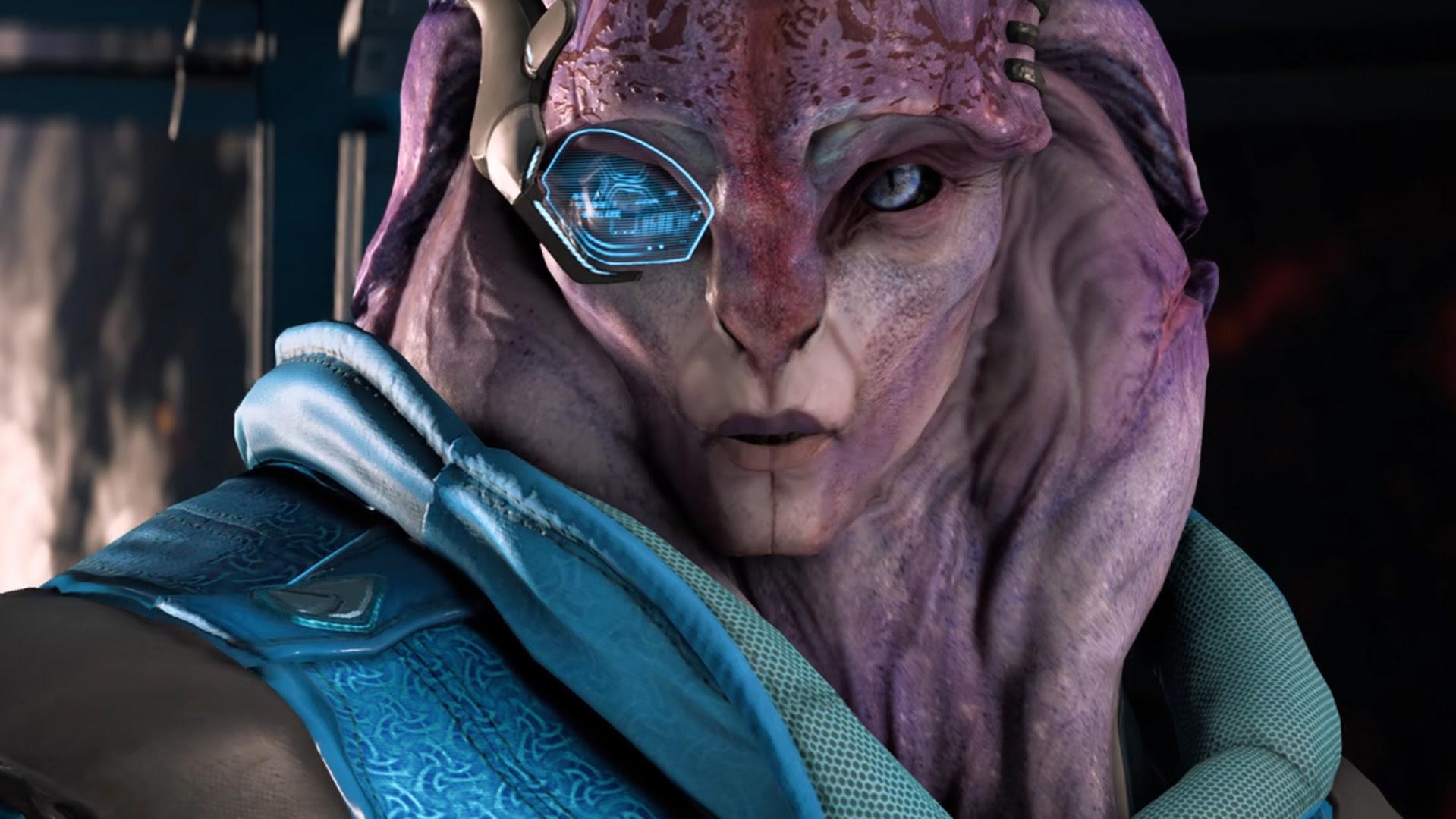 Mass Effect: Andromeda update gives Scott Ryder another romance option screenshot