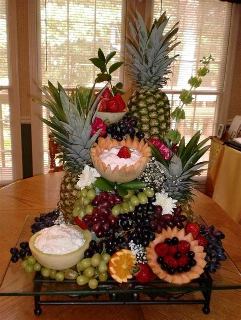 Wedding buffet table decoration   Fruit Table Displays