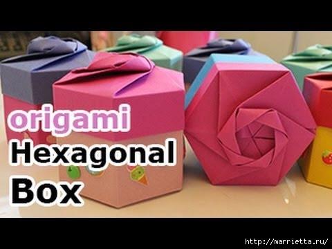 Scatole di doni in l'arte degli origami (480x360, 81Kb)