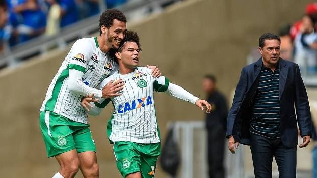 Brasileiro Chapecoense Cruzeiro Camilo Neto Luxemburgo
