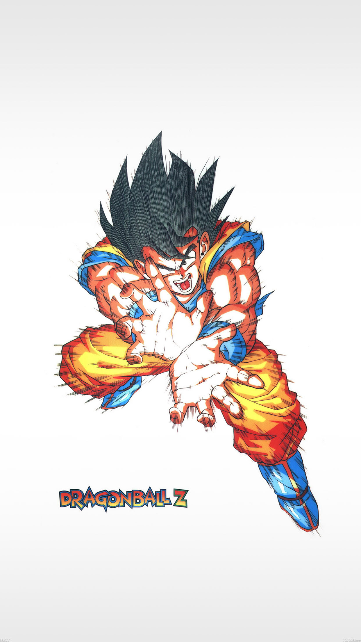 Iphone6papers Ae87 Dragon Ball Z Goku Energy