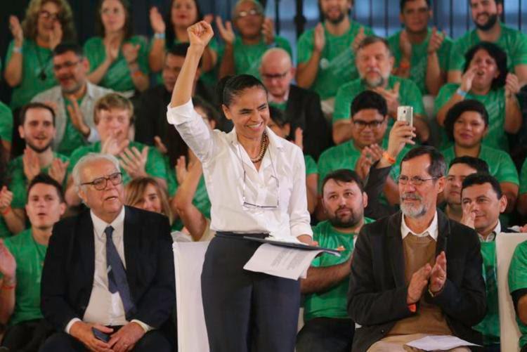 Marina Silva é confirmada candidata a presidente pela Rede | Foto: Fabio Rodrigues Pozzebom | Agência Brasil