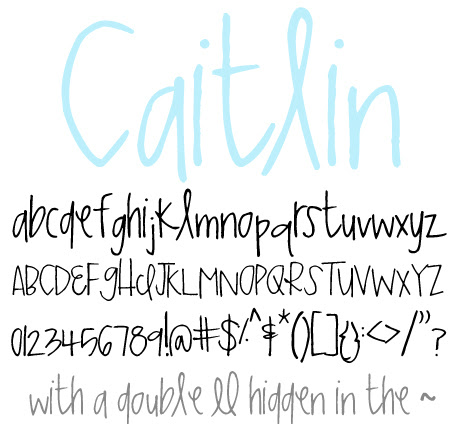 click to download Caitlin