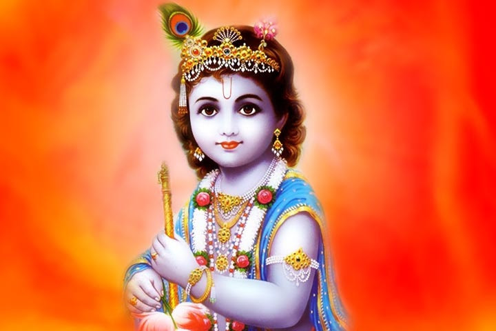 Image result for child krishna