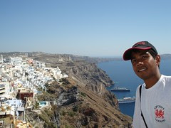 Fira, Pulau Santorini, Greece