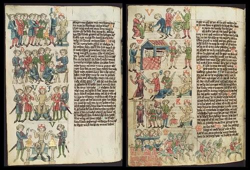 Wolfenbütteler Sachsenspiegel duo a