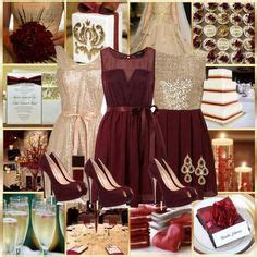 121 Best Burgundy and gold wedding images