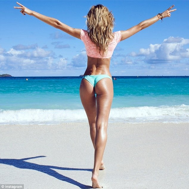 Wowzer: The model is known for her insanely fabulous curves and jovial demeanor