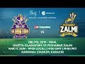 PSL4 Live Match Streaming Today-Ten Sports Live Match 2019