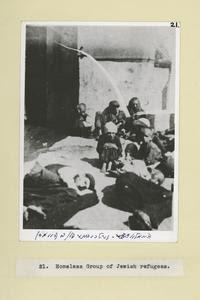 Homeless group of Jewish refug... Digital ID: 58172. New York Public Library