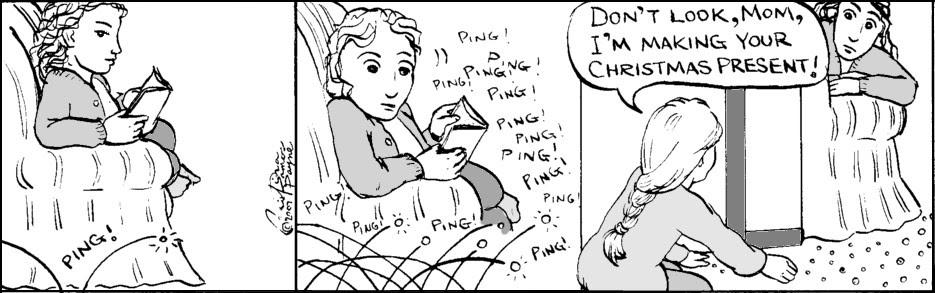 Home Spun comic strip #173