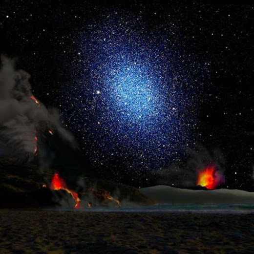 dwarf-galaxy-seen-from-the-surface-a-hypothetical-exoplanet
