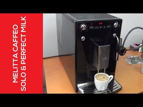 عرض على مكينة قهوة Solo & Perfect Milk من شركة Melitta