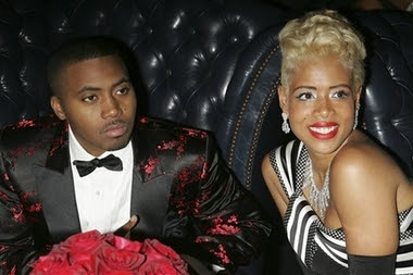Nas and Kelis at Album Release Party