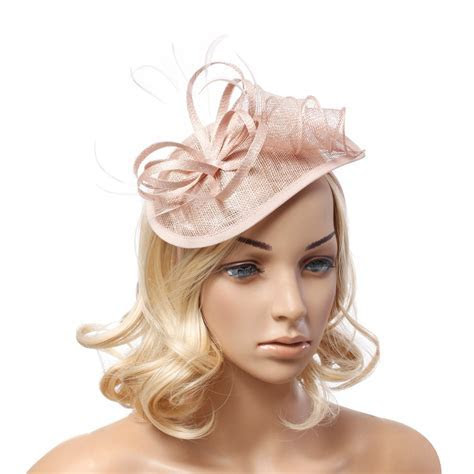 Online Buy Wholesale black feather fascinator from China