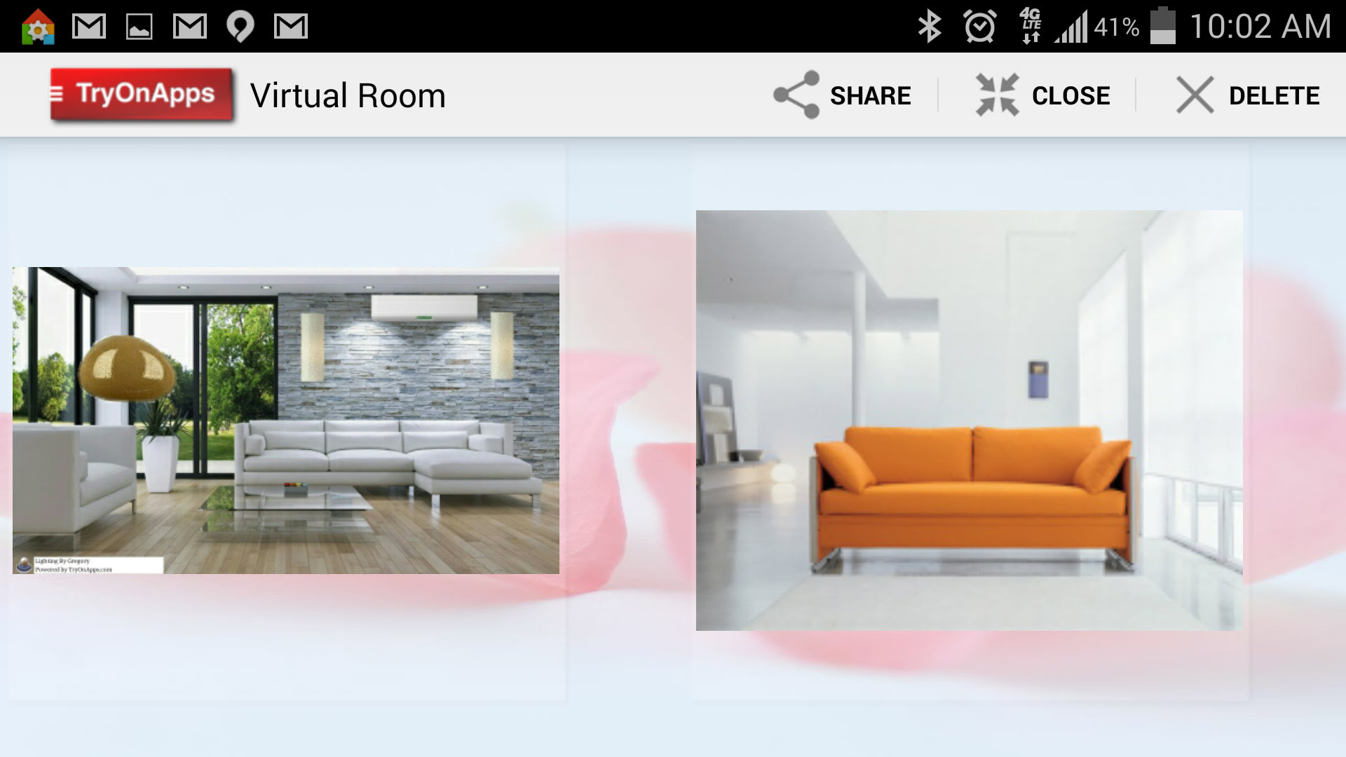 Virtual Decor Interior Design - Saved Virtual Rooms ...