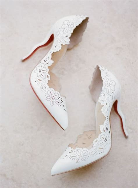 Best 25  White wedding shoes ideas only on Pinterest