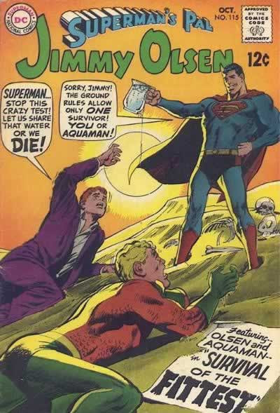 Superman hasst Jimmy Olsen