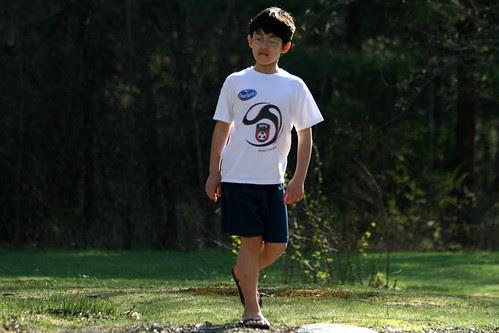 Adam strolls