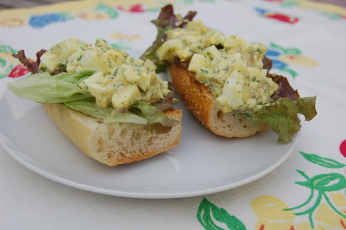 Curried Egg Salad