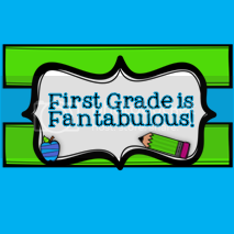 grab button for First Grade is Fantabulous