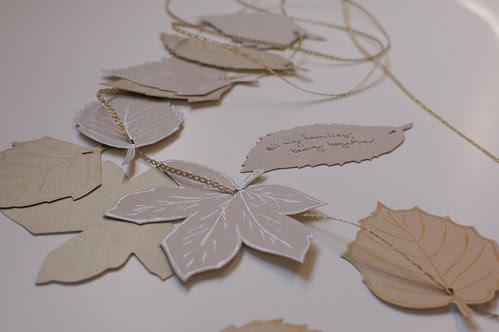 thankful leaves