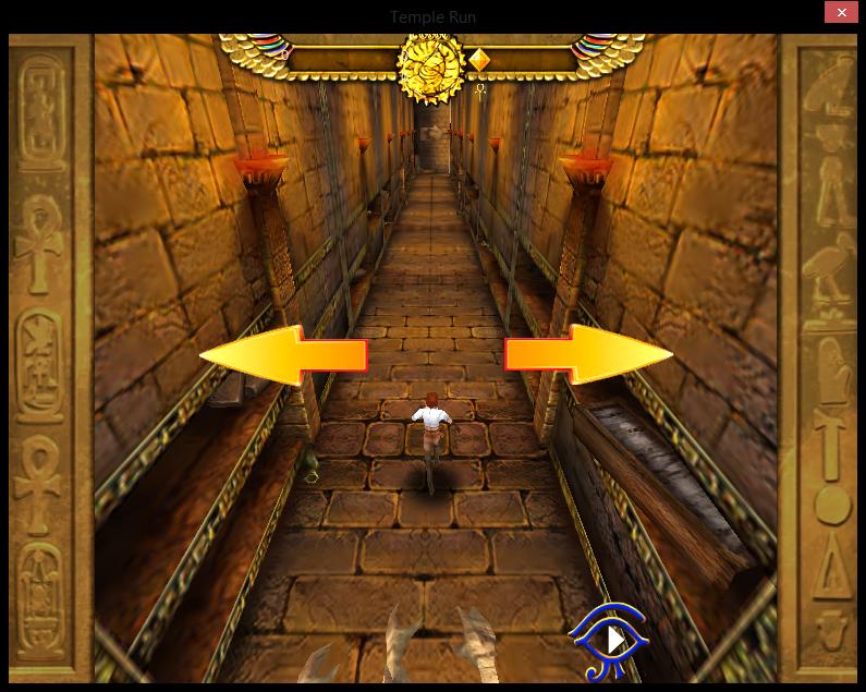 لعبة الهروب من المعبد temple run 3d اون لابن