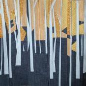 Aspen Grove Forest QAL block 3 - via @Craftsy - LOVE THIS!
