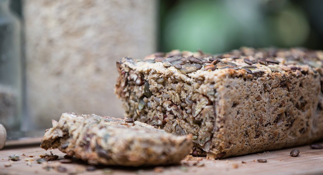 Gluten Free Buckwheat and Oat Bread - Madeleine Shaw