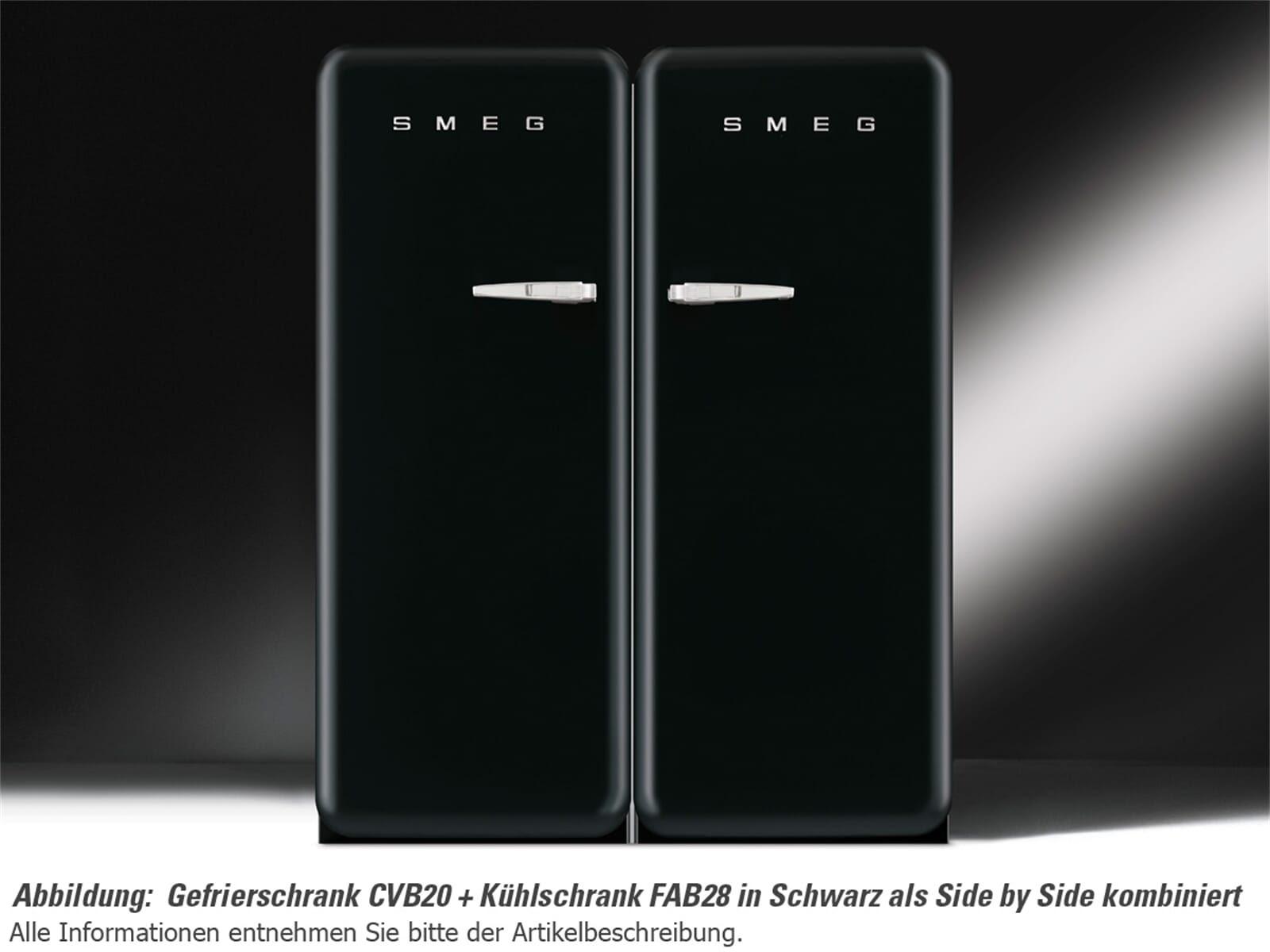 Smeg Kühlschrank Schwarz Matt : Retro kühlschrank smeg schwarz edna r gray