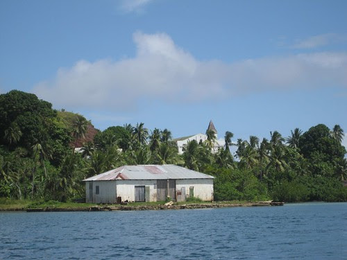 Katherine Bay copra shed and church