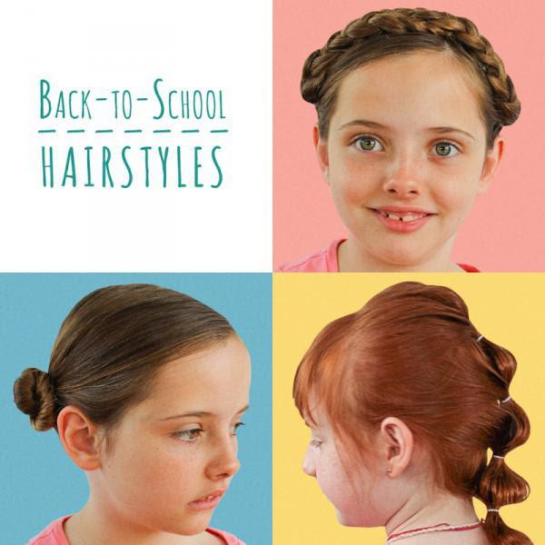 5 Minuten Zurück Zuschule Frisuren