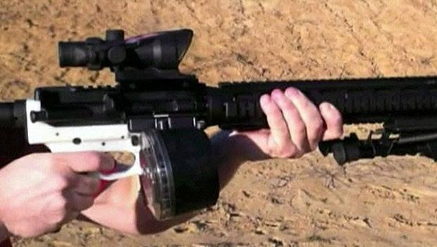 Molde para fabricar arma pode ser usado em impressoras 3D (Foto: Reprodução)