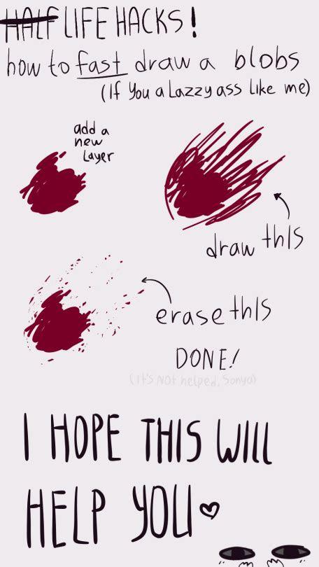 drawing anime  safe      blood drawing