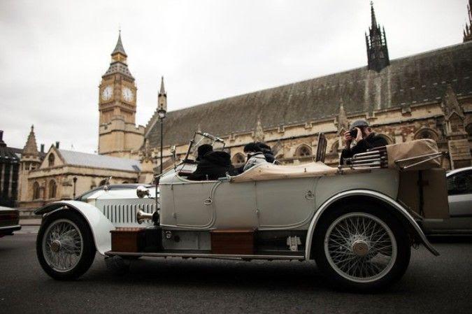 Parade Rolls-Royce London