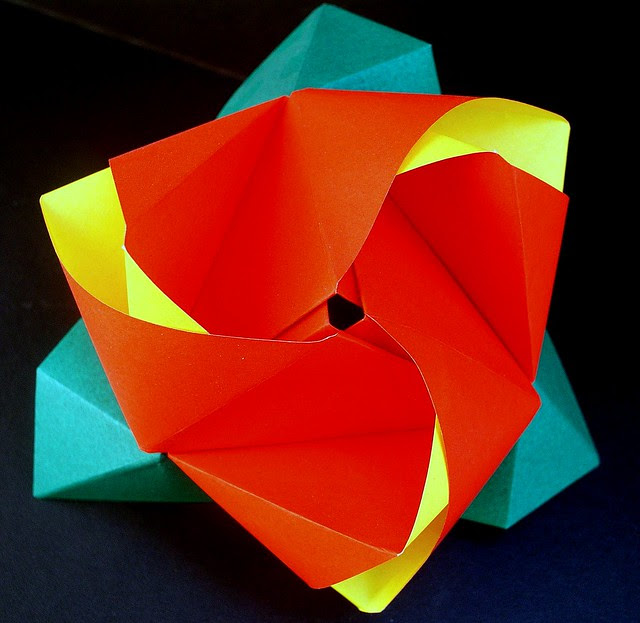 ROSE ORIGAMI DIAGRAMS « EMBROIDERY & ORIGAMI