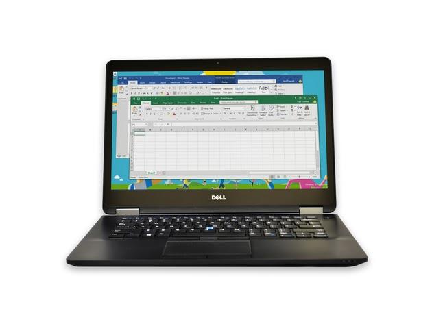"Dell Latitude E7470 Laptop Computer, 2.40 GHz Intel i5 Dual Core Gen 6, 8GB DDR3 RAM, 256GB SSD Hard Drive, Windows 10 Professional 64 Bit, 14"" Screen (Renewed) for $534"