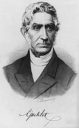 Adolphe Quételet by Joseph-Arnold Demannez