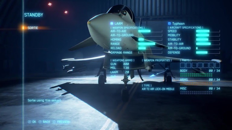 Ace Combat 7: The Gamescom gameplay demo in the video