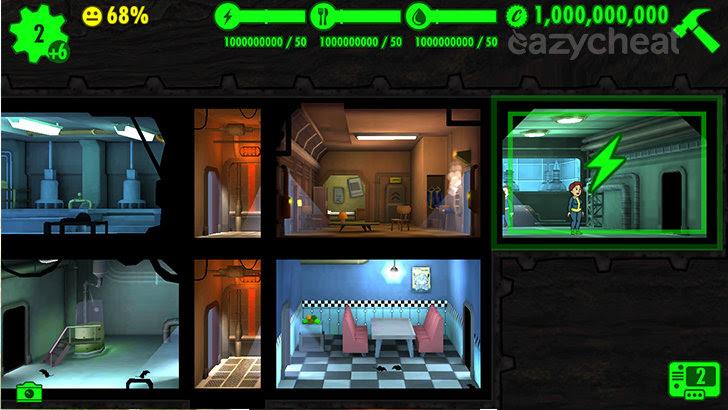 Fallout Shelter v1.5 Cheats