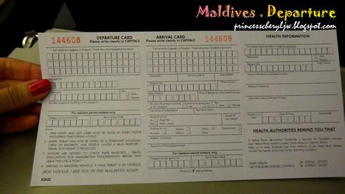 Maldives landing card 02