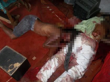 Corpos foram encontrados dentro de residência (Foto: Ubatã Notícias)