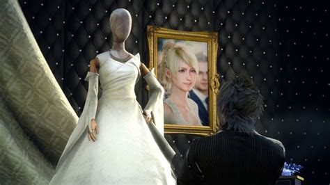 FINAL FANTASY XV [Chapter 9]   Lunafreya's Wedding Dress