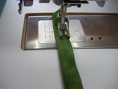 Sewing the Handle