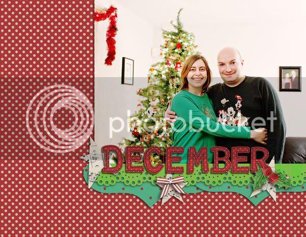 December 2013 calendar topper