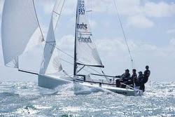 J/70 boats.com sailed by Ian Atkins and Rorey Scott