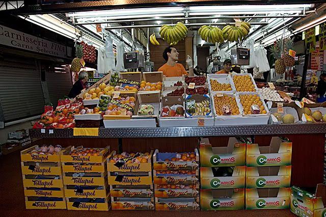 Ninot Market, Barcelona: Fresh Mediterranean  Food
