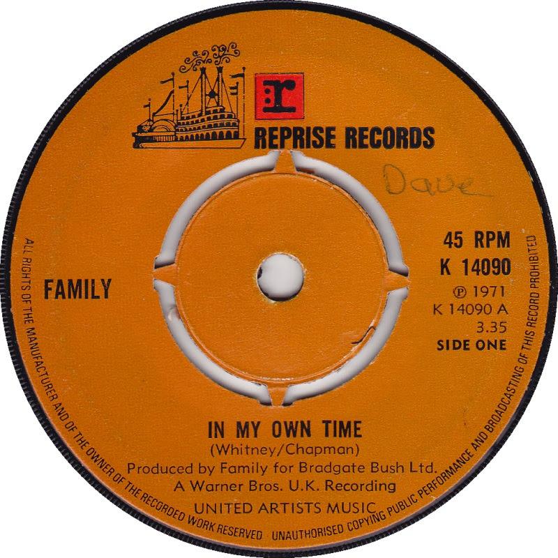 45cat Family In My Own Time Seasons Reprise Uk K 14090