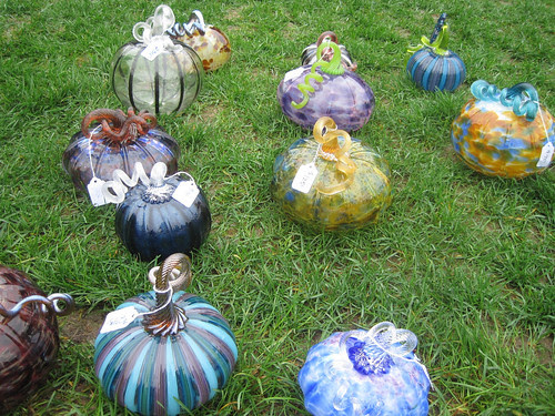 Great Glass Pumpkin Patch at MIT